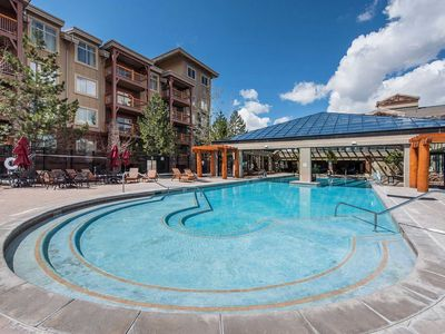 Photo for Ski in / Ski out - Great for the family - Largest outdoor pool in Utah