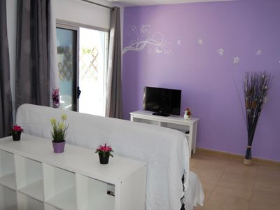 Photo for Cozy apartment in Morro Jable Sports Pier, pets allowed.