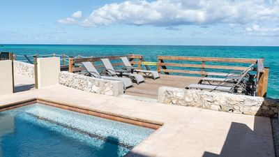 Private Plunge Pool and extended deck with water access