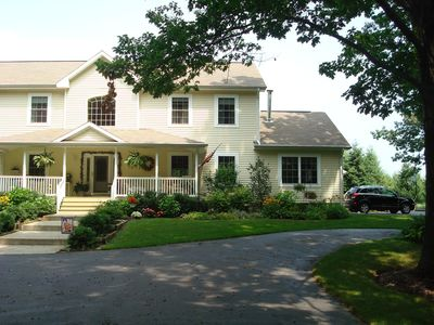 Photo for Beautiful family friendly home. Biking distance to beaches and downtown!