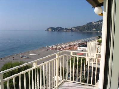 Photo for Apartment with breathtaking view of the bay of Taormina