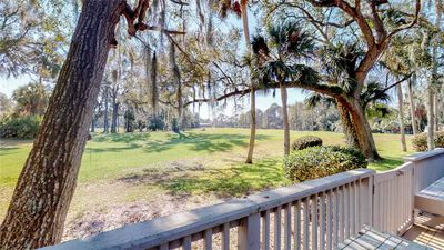 Hilton Head Vacation Rental on the practice green and driving range!