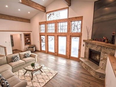 Photo for Luxury at its Best! Gorgeous Kitchen. Stunning Updated House with Breathtaking Views of Alpine Meadows. Perfect Location Sitting Between Squaw Valley and Tahoe City! FREE ACTIVITIES EVERYDAY!