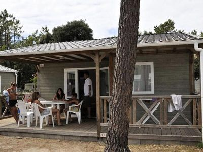 Photo for Camping Le California **** - Chalet Cinnamon 3 Rooms 5 People