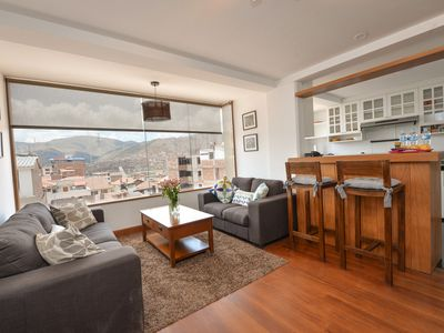 Photo for BEAUTIFUL, WARM, VIEW, SAFE, GREAT VALUE, SLEEPS 4