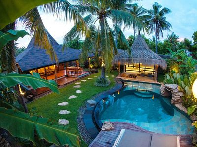 Photo for Exotic Luxury Villa with private Pool at Gili Trawangan