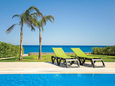 Photo for 3 bedroom villa, access to Lahania Beach, A/C, Wi-Fi & private pool