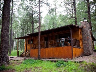 Photo for Secluded Mountain Cabin. Book Now!