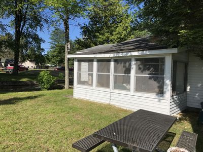 Photo for Beautiful Lake Front house with access to all sport Mullet Lake