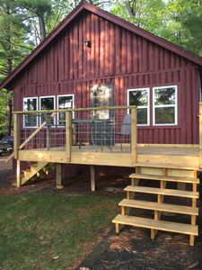 Photo for Charming Lake-front Cabin between Cable & Hayward, near CAMBA & Birkie trails