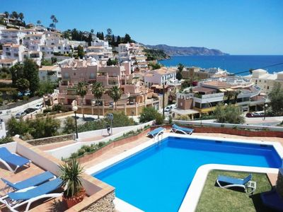 Photo for House with terrace and communal swimming pool - Alamar Burriana Nerja Canovas