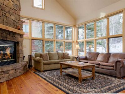 Photo for Slopeside 3-bedroom Moose Creek Townhome with Mountain View and Hot Tub
