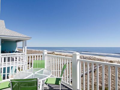 Photo for Top floor oceanfront condo with large deck and sweeping coast views