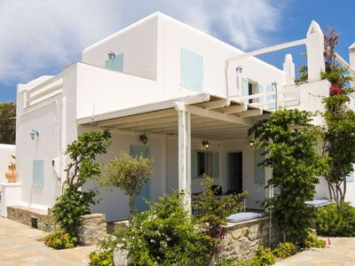 Photo for Mykonos Relaxing Cycladic Villa private parking