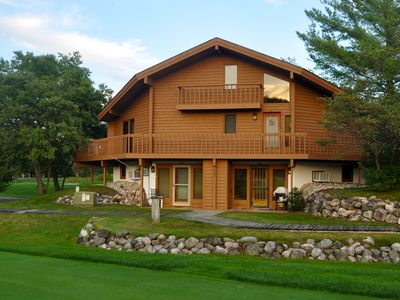 Photo for Cute, clean 1bdr condo, new flooring,on the Schuss course , view of slopes WIFI
