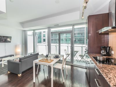 Photo for CN Tower & Lake View, Luxury Condo in Downtown