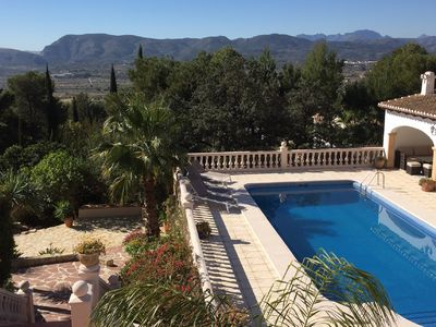 Photo for Spacious villa any comfort (swimming pool / wifi / airco / bbq) garden & exceptional views