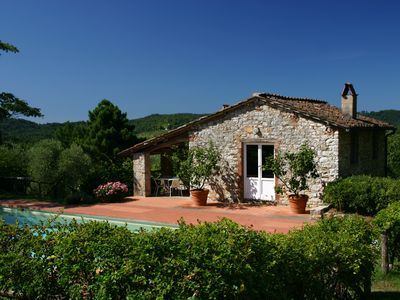 Photo for Tuscan Farmhouse/Villa. Idyllic Scenic Tranquility In Hills Near Lucca And Sea