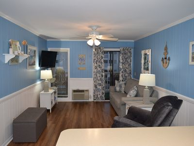 Photo for Beaches Open! Great rates! Family Friendly!Oceanfront Bldg/Shore Dr/Myrtle Beach