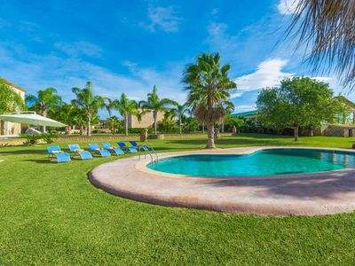 Photo for SON PEROT - Villa with private pool in Maria De La Salut.