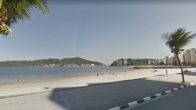 Photo for Flat Apartment in front of São Vicente Beach