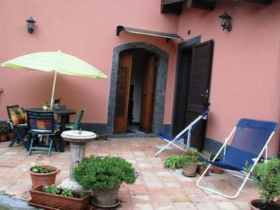 Photo for Typical Sicilian home on Etna, ideal for a family holiday
