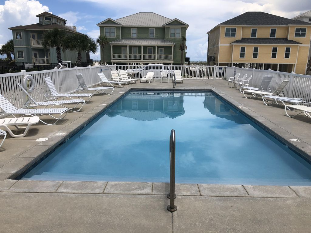 Great Location Gulf Front Home W Pool H Vrbo Heavenly Sunrise Orange Beach
