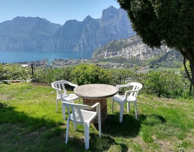 Photo for 9 - Double room with garden view overlooking the lake Torbole
