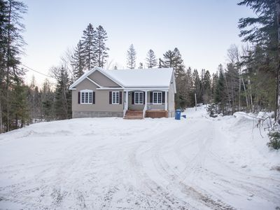 Photo for Brand New 2018 private CHALET Laurentians