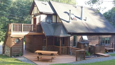 Photo for GROUP GETAWAY CHALET/Pavilion, NEAR HOLIDAY VALLEY/ ELLICOTTVILLE!! Sleeps 22
