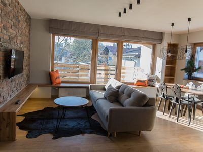Photo for cozy, bright apartment with a sunny terrace