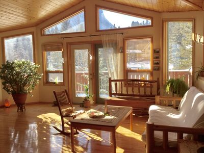 Photo for Cozy alpine home downtown Canmore