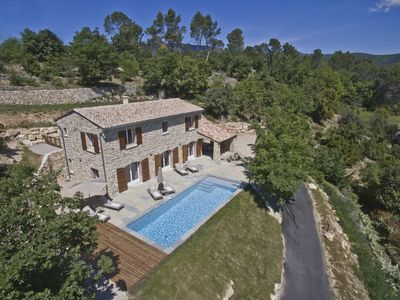 Photo for PERFECTION IN PROVENCE - GORGEOUS HOUSE - STUNNING VIEWS / HEATED POOL  FAYENCE