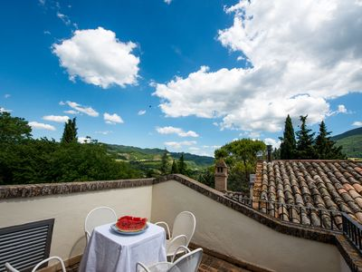 Photo for Villamena, Villa in Assisi, OLMO-TORRE