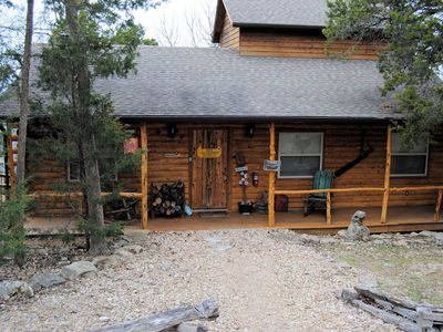 Photo for Can-U-Canoe Riverview  3 Bedroom Luxury Cabin with Awesome Views