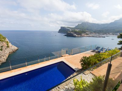 Photo for Villa with pool on the sea in Port de Sóller