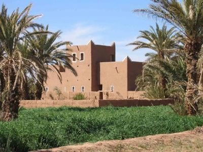 Photo for large traditional adobe riad on the edge of the sahara