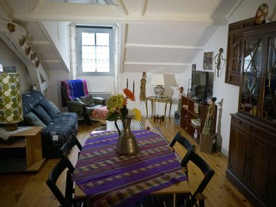 Photo for Charming apartment under roof. 2 bedrooms, sleeps 2 to 4