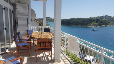 Photo for Apartment with Magnificent Sea Views and Additional Boat Hire Available