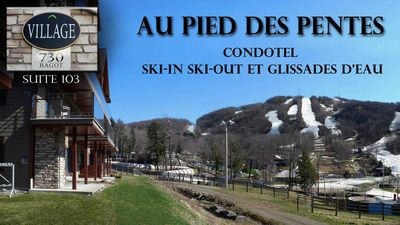 Photo for A true ski in ski out mountain Bromont