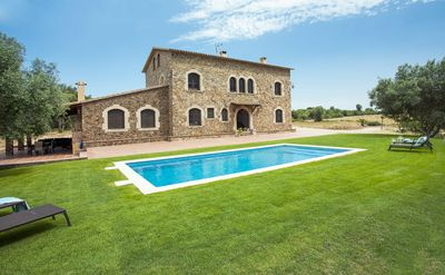 Photo for FARMHOUSE LLABIA EMPORDA HOUSE WITH SWIMMING POOL COSTA BRAVA 14 p
