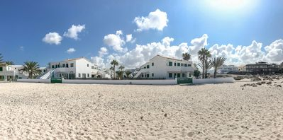 Photo for Beachfront apartment in Cotillo