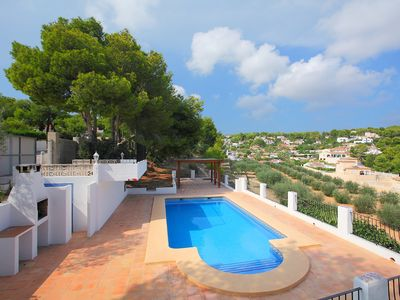 Photo for This 3-bedroom villa for up to 5 guests is located in Calpe and has a private swimming pool.........