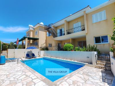 Photo for Pegeia Villa, Sleeps 6 with Pool and Air Con