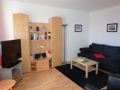 Photo for 2 room apartment with balcony - 2 bedrooms Apartment at the gates of the seaside resort Warnemünde