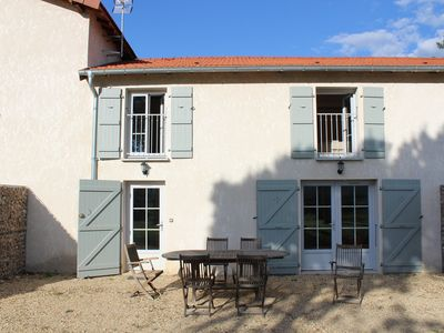 Photo for Charming duplex with terrace and Solutré view