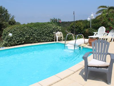 Photo for luxury villa in a dream setting, garden pool, stunning views
