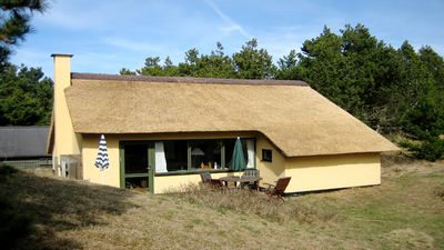 Photo for Cozy stone cottage on a dune plot, with Wi-Fi and oven