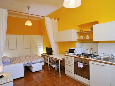 Photo for Appartamento Gilberto: A cozy and welcoming studio apartment situated at a short distance from the shores of Lake Como, with Free WI-FI.