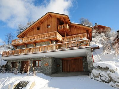 Photo for Hermine | Luxury Chalet in the Center of Meribel | Private Driver | Sauna & Jacuzzi